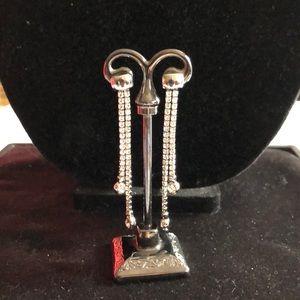 Drop Crystal Earrings